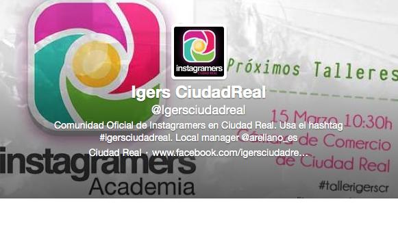 Twitter de IgersCiudadReal