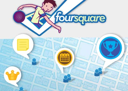 Foursquare day, 16 abril 2014.
